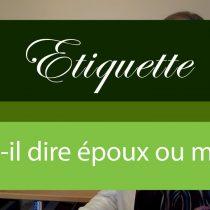 époux snob mari différence etiquette manners french manners protocole leçon guide savoir-vivre livre chronique résumé à savoir
