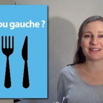 couteau-fourchette le couteau à droite, la fourchette à gauche dresser une table politesse étiquette savoir-vivre bonnes manières protocole lady gentleman galanterie