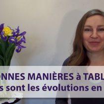 évolutions des bonnes manières à table spécialiste protocole savoir-vivre nadine de rothschild