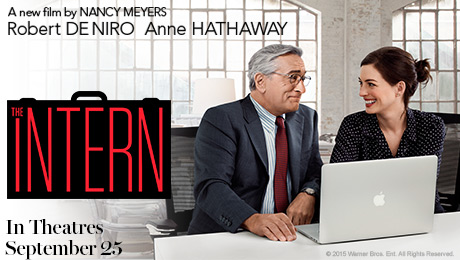 the intern le nouveau stagiaire le film aux mani res. Black Bedroom Furniture Sets. Home Design Ideas