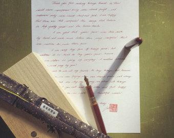 lettre manuscrite, comment écrire une lettre d'amour, lettre carte de voeux manuscrite, politesse, savoir-vivre, étiquette rédiger une lettre, règle de bienséance